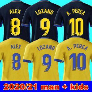 nouveau 20 21 maillots de football Cadix maison loin MAN 19 20 21 chemisettes de Fútbol Fernández Jovanovic Carmona ENFANT CHEMISE Garrido de football