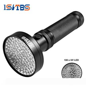 18W UV Black Light Flashlight 100 LED Best UV Light and Blacklight For Home & Hotel Inspection,Pet Urine & Stains