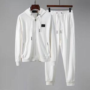 New Paris Europe and America New Medusa Sportswear Men's Full Zip Sweatshirt Classic Couple Medusa Sportswear Suit Jacket