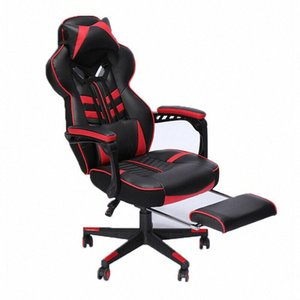 Gaming Chair Racing Chair Ergonomic Office Computer Recliner Padded Wide Seat XdkS#