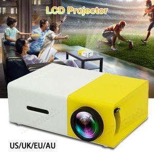 20x LCD Projektör Evrensel Led Mini Projektör HD 1080P Çözünürlük Ultra Taşınabilir Ev Sineması 2020 Uyumlu HDMI Telefonu Laptop Ekran