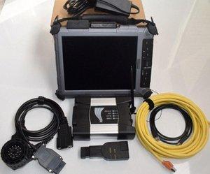 pour BMW ICOM Next Ordinateur portable Xplore iX104 Tablet ICOM Next A2 + B + C pour BMW outil de diagnostic pour BMW ICOM A2 LAPTOP Ox9x #