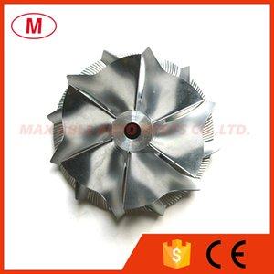 GT15- 25 49,50 / 63,00 milímetros 6 + 6 lâminas Desempenho Turbo tarugo roda do compressor / Alumínio 2618 / trituração por turbocompressor Cartucho / Chr / Core