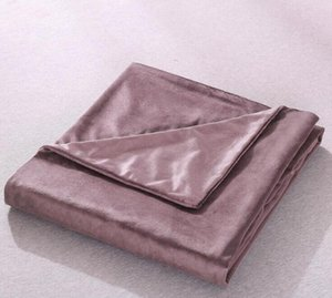 Duvet Covers Removable Duvet Cover for Weighted Blankets Polyester Quilt Cover 60