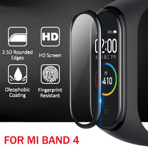 3D Protective Glass for Xiaomi Mi Band 4 Glass Film For Mi Band4 Smart Watchband 4 Soft Screen Protector Film