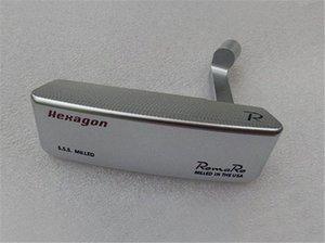 Romaro Hexagon Putter Romaro Hexagon Golf Putter Romaro Golf Club 33/34/35 pollici Pozzo d'acciaio con copertura della testa g5qK #