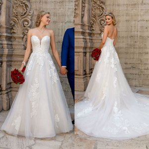 Kitty Chen 2021 Wedding Dresses A Line Bohemia Lace Appliqued Bridal Gowns Sexy Sweetheart Backless Wedding Dress Vestidos De Novia