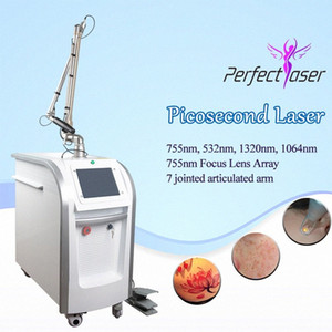 new arrival pico laser beauty equipment tattoo removal picosecond laser 755 q-switched nd yag laser face acne treatment RMD0#