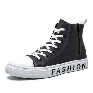 Fashion awesome Luminous Shoes Men&#39s Casual Skateboarding Shoes High Top Sneakers Sports Hip Hop Street Walking Chaussure Ho