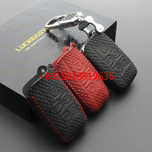 rover cuir terre Key Case Cover pour Jaguar Land Rover Range Rover Evoque Sport Freelander 2 Discovery 3 4 XF A8 A9 X8