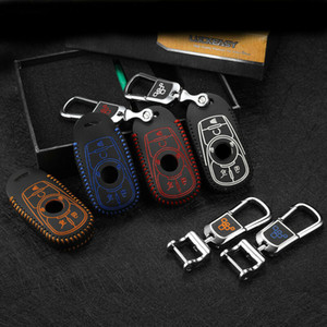 Remote Car key case Genuine leather car key holder bag for buick LaCrosse 2017