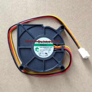Original ventilador 6015 6cm GB1206PHV1 AY-12V 1.6W 3wires ventilador de enfriamiento del proyector ~