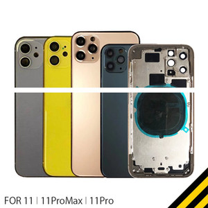 For iphone 8G 8P Plus X XR XS MAX 11 11pro max Back Cover + Middle Chassis Frame + SIM Card Full Housing Case Assembly
