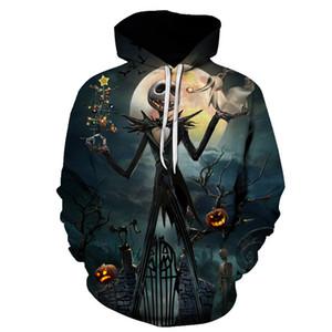 Men Women shirt Hoodies Tees Outerwear Halloween Gift Nightmare Before Christmas Jack 3D Print Female male Hoody Sweatshirt 200922