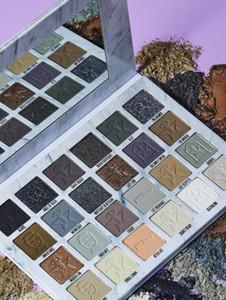 2020 Nouveaux JS Crémation 24 EYESHADOW palette de couleurs brun gris mat Poudre Pressée J étoile Ombres à paupières