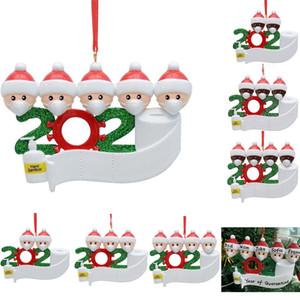 زخرفة 2020 الحجر عيد الميلاد أرخص شجرة عيد الميلاد الديكور PVC DIY لاكي عائلة 2-7 تخصيص قلادة عيد الميلاد