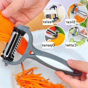Multifunctional 360 Degree Rotary Peeler Carrot Potato Orange Opener Vegetable Fruit Slicer Cutter Kitchen Accessories Tools Rotary Peeler