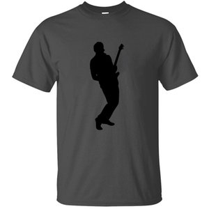 The New Funny Casual Electric Guitar Player Accoustic Bass Rock Music T Shirt For Men Cotton Female Awesome T-Shirts