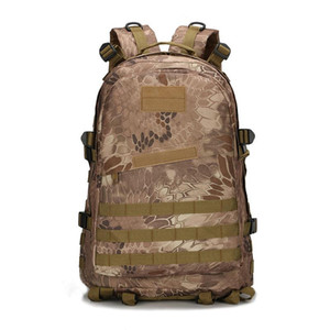 Дизайнер-рюкзак сумка 3D мужчины Рюкзак Оксфорд мужчин Тактика женщины Водонепроницаемая мужчины армии Вентиляторы Камуфляж Сумка PTW004