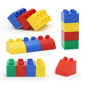 150pcs Children DIY Creative Building Bricks Toys Intelligence Big Particle Building Blocks Primary Construction For Kids Gift