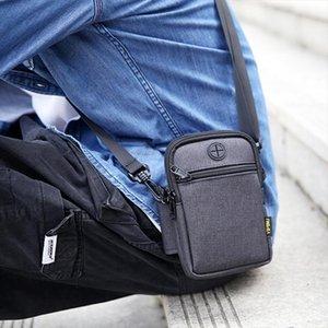 Shoulder Outdoor Running Sport Bag Waterproof Mobile Phone Money Bags Multi Function Crossbody Messenger Belt Bag For Men Male