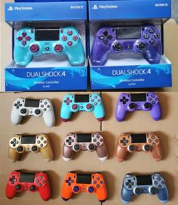En Yeni Perakende Paketi ile Cgjxs Yeni PS4 Kablosuz Bluetooth Oyun Gamepad Shock4 Kontrolör Playstation İçin PS4 Oyun Denetleyici