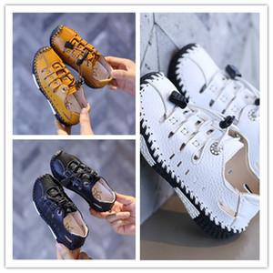 New Summer Baby Boy Shoes Fashion Breathable Casual Sports Leather Kids Shoes Sandalias Niño Children Non Slip Beach Sandals