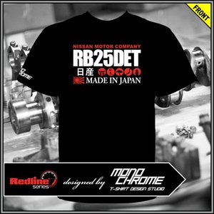 T-shirt Nissan RB25DET Gloria Cedric Laurel Skyline R33 R34 Stagea WGNC34