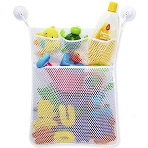 Storage Bag New Baby Toy Suction Cup Mesh Screen Cloth Washable Durable Bath Bathtub Doll 2018 B#
