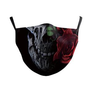 маска для лица Солнцезащитный пыле стирать и использовать в много раз личностными красивых масок европейских и американских маски в стиле Хэллоуин