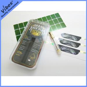 Svuotare 510 Brass Knuckles Discussione cartuccia Vape Con ologramma adesivo e Flav Label - Collegato Abracadabra Nap Carrelli atomizzatore Pen