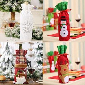Décorations de Noël Sapin de Noël Père Noël bonhomme de neige Hanging ornements Arbre de Noël fenêtre poupée pendentif cadeaux de fête d'enfants WX9-1654 # 298