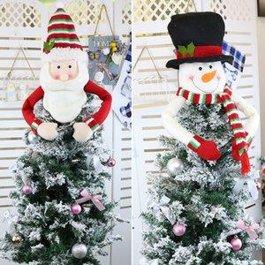 لوازم عيد الميلاد شجرة كبيرة توبر الديكور سانتا ثلج الرنة مضيعة نعالها عيد الميلاد حزب عطلة الشتاء حلية DHE1257