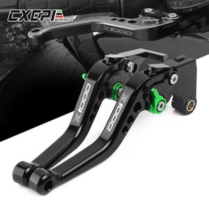 LOGO Z1000 For Z1000 Z 1000 2020 2020 Motorcycle Accessories Handlebar Short CNC Adjustable Clutch Brake Levers