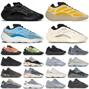 Kanye hombres mujeres zapatos para correr 700 reflective Wave Runner Utility Black Azael Alvah Vanta Hospital azul zapatillas de deporte para hombre zapatillas deportivas de moda
