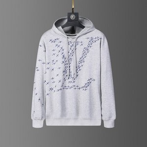 2020 Moda Uomo Designers maglione di lavoro a maglia con cappuccio delle donne Lussi Felpa manica lunga con cappuccio Hip Hop Pullover marchio di abbigliamento
