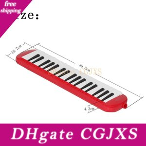 37 Anahtar Organ Sert Kutu Ambalaj Kırmızı