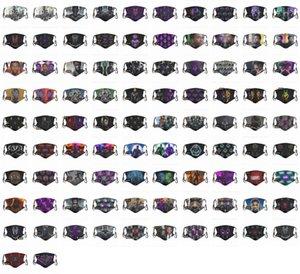 2020 CALIENTE! Las máscaras faciales diseñador de hombres y mujeres de la mascarilla Chadwick Boseman mascarilla de Máscaras Negro Pantera personalizados envío libre de DHL