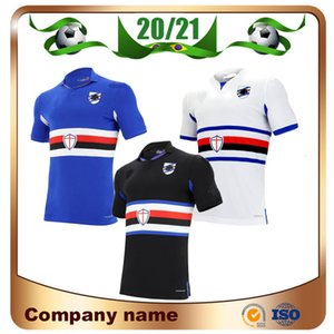 20/21 Sampdoria camisa de futebol de casa 2020 Longe Sampdoria # 7 LINETTY # 14 JANKTO da camisa do futebol Yoshida Maroni Gabbiadini terceiro uniforme de futebol