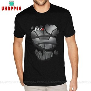 Commanders Armor Mass Effect N7 Short Sleeve Tshirt 3XL For Men's Tops T-shirts