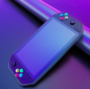 Retro game console 7 inch Handheld Game Console Double Joystock Controller TF Card Built in 3500 mAh For PS1 NES Kid's Gift
