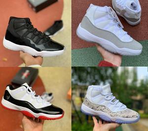 2020 11 Jumpman Gym Rouge Chicago Chaussures de basket de minuit marine 82 Formateurs UNC Space Jam 45 Mens Retro Sneakers 11s sport Chaussures de sport