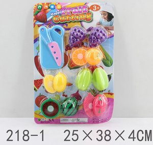 New Style Children's Cutting Simulation Fruits And Vegetables Plastic Toy Boys And Girls Cutting Vegetable Suit
