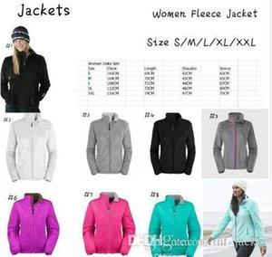 Kış İnce Osito Kapüşonlular Ceketler Coats Bayanlar Windproof Sıcak Osito Softshell Ceketler Wommens Açık Casual Polar sportswea kadın ceket