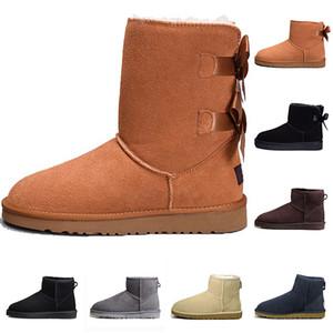 In poco costoso della alta qualità regalo di natale Stivaletti 11color Winter Snow Boots sexy WGG donna stivali da neve d'inverno scarpe imbottite di cotone caldo Boot
