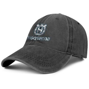 Stylish Husqvarna Gray camouflage chainsaw logo Unisex Denim Baseball Cap Design your own Team Hats 3D effect flag parts gold online for