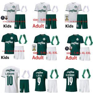 20 21 Palmeiras futbol forması çocuklar kiti + çorap DUDU FELIPE MELO formalarını L.ADRIANO B.HENRIQUE camisa Palmeiras 2020 Feminina