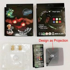 Cgjxs Magic Lights flash Led magiquement Flies Honeybee Finger Tricks New Lantern Toy pour iPhone Smartphone Télécharger App lumineux Bugz