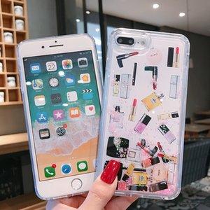 Bling Cristal Líquido Glitter 360 protect Designer Phone Case à prova de choque não impermeável tampa traseira para o iphone 11 Pro X XS XR