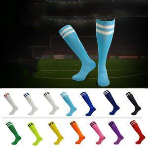 Adultos de futebol meias toalha de designer inferior collants de futebol meias respirável antiderrapante Sweat-absorvente longo tubo de Futebol Socks